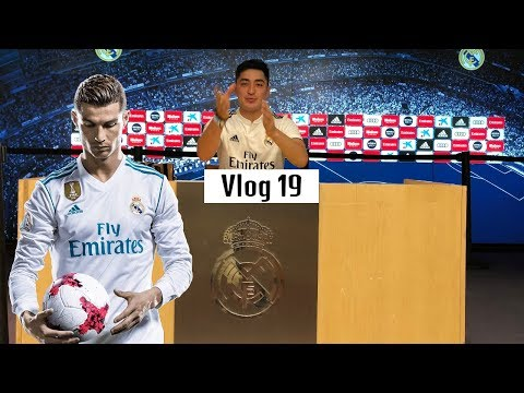 YANGILIK: Ronaldo o'rniga O'zbek bola keldi!   (Real Madrid Vlog 1-qism)  | VLOG #19
