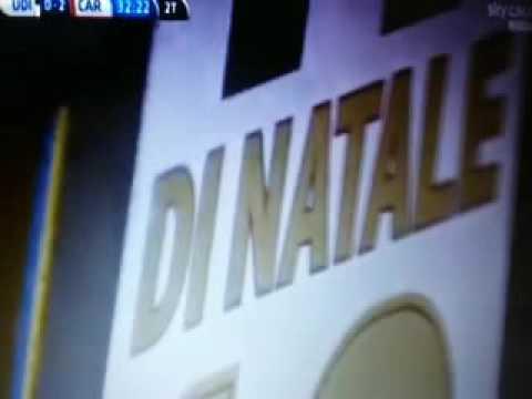 Antonio Di Natale fa 227 gol con l'Udinese nella gara di addio