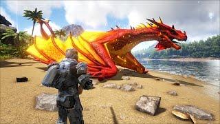 ARK: Survival Evolved - Rồng khủng Dragon và Drake xuất hiện trong Map (The Island)