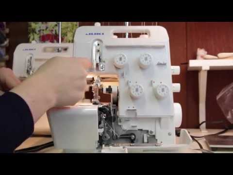 Serger 101 Threading the Juki MO 654de Machine by Create Kids Couture