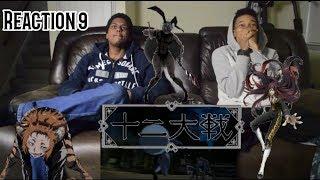 Juuni Taisen episode 9 reaction (Dub)