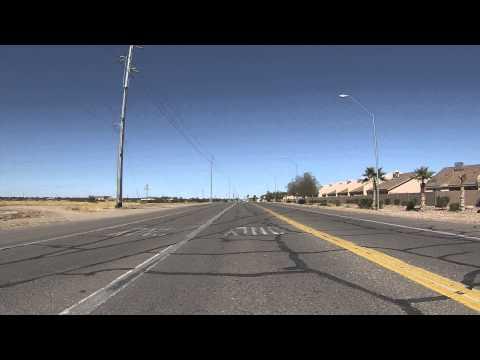 Arizona Western College drive to Interstate 8 Freeway Border Patrol Checkpoint Line, GOPR0027