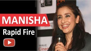 Manisha Koirala | Rapid Fire |  Dear Maya