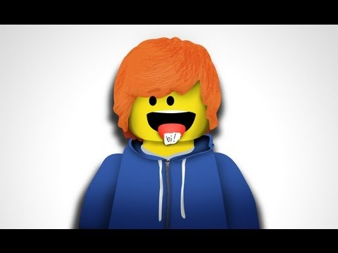 "ED SHEERAN - ""LEGO HOUSE (LEGO VERSION)"""