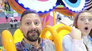 Exploring More Of IAAPA 2018 Roller Coaster & Theme Park Rides! | Ride POV, New Tech & More!