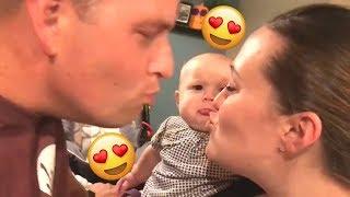 kid jealous of parents kissing part 1