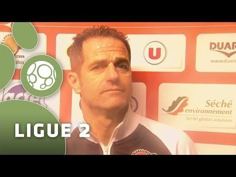 Conférence de presse Stade Lavallois – Clermont Foot (0-0) – 2013/2014