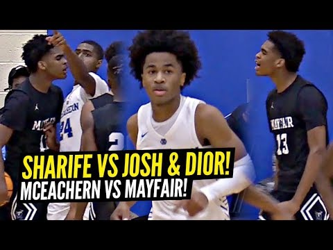 Sharife Cooper vs Josh Christopher GETS HEATED!!! Sharife Drops 44 Points!! Josh Goes Drops 36!!!
