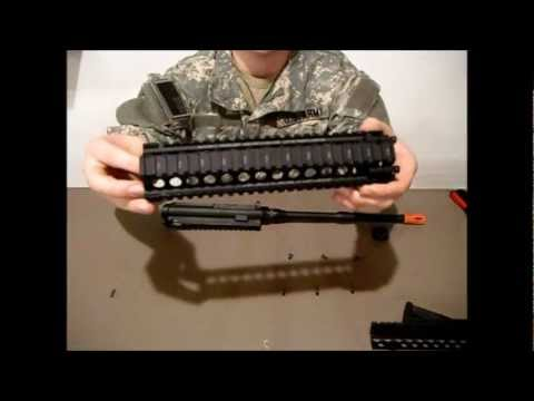 G&G Combat Machine M4 Upgrade Install Part 3