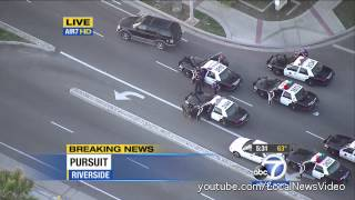 Police Chase - Riverside, CA Parolee - Feb 26, 2013