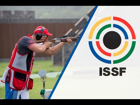 Finals Double Trap Men - ISSF Shotgun World Cup in all events 2014, Beijing (CHN)