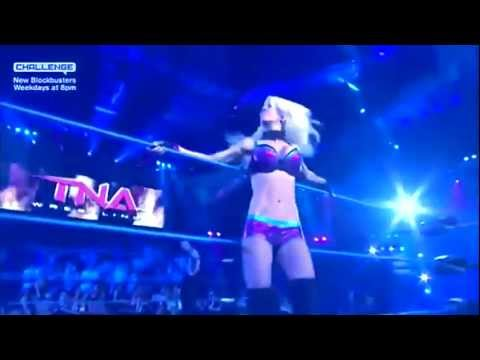 TNA Angelina Love MV - Midnight City