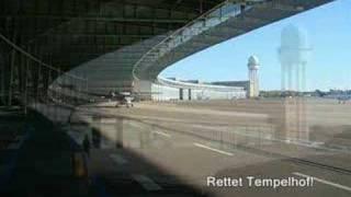 Approach Airport Berlin Tempelhof EDDI