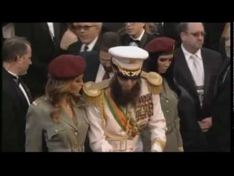 [HD] Sacha Baron Cohen as The Dictator at the Academy Awards Music Videos
