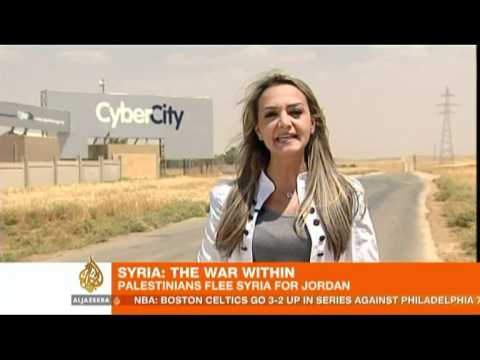 Hardships exposed at Jordan refugee centre
