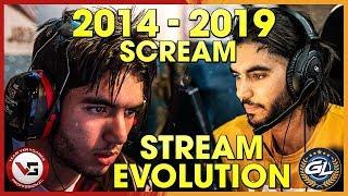 CS:GO - SCREAMS TWITCH STREAM EVOLUTION! (INSANE ONE TAPS & AMAZING CLUTCHES)