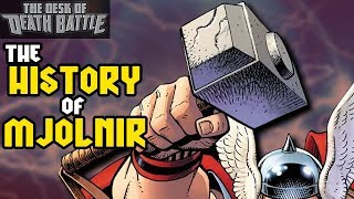 The History of Mjolnir | Desk of DEATH BATTLE