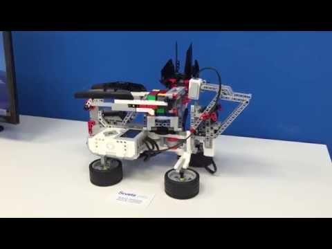 Cubo De Rubik Con Lego Mindstorms EV3