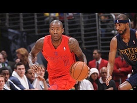 Check out this amazing behind-the-back move by Clippers guard Jamal Crawford for the score against the Nuggets to the amazement of actor Billy Crystal who ma...