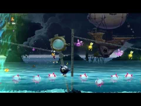 Rayman Legends - Music Stage Compilation (All Music Stages - Including 8 Bit Editions)
