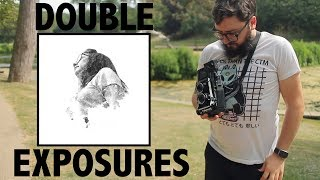 How to make double exposures on film
