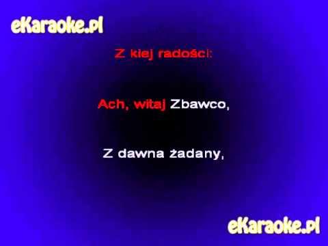 Kolęda - Wśród Nocnej Ciszy - Karaoke [www.eKaraoke.pl]