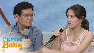 Magandang Buhay: Cristine prays for her husband Ali