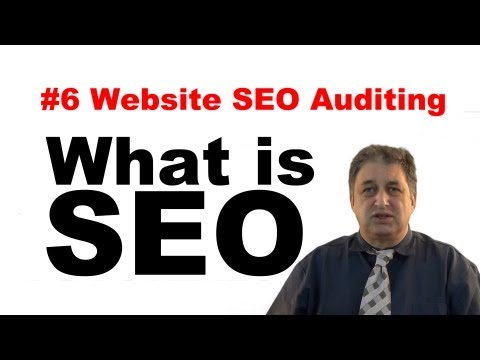 #6 SEO Tutorials for Beginners | Auditing your website for SEO