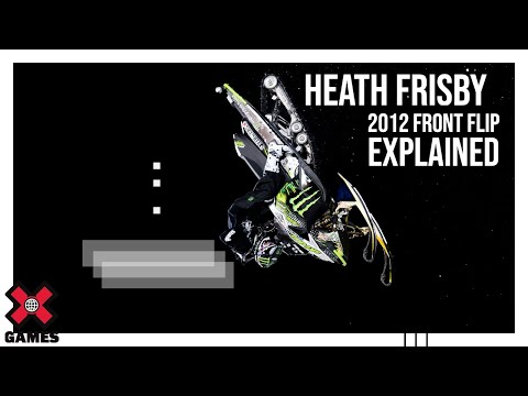 Winter X Games 2012: Heath Frisby Front Flip Explained