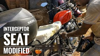 RE Interceptor 650 SEAT MODIFIED - Touring Ready