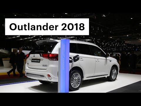 Митсубиси Аутлендер 2019 с расходом 2 л на 100 км - первый обзор