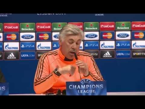 Carlo Ancelotti vor Finale: