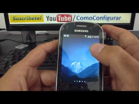 Como Cambiar El Theme De Android Samsung Galaxy Fame S6810 Español Full Hd video