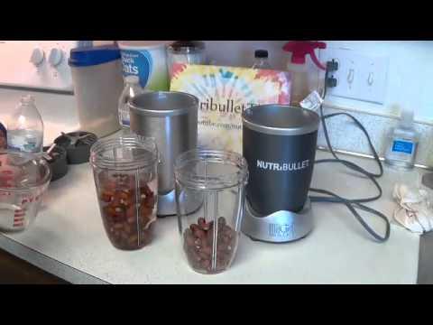Making Almond Milk with the Nutribullet (Nutribullet versus Nutribullet Pro 900 Series)