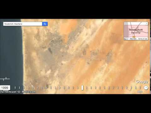 Nouakchott Google Earth Timelapse (1984-2012)