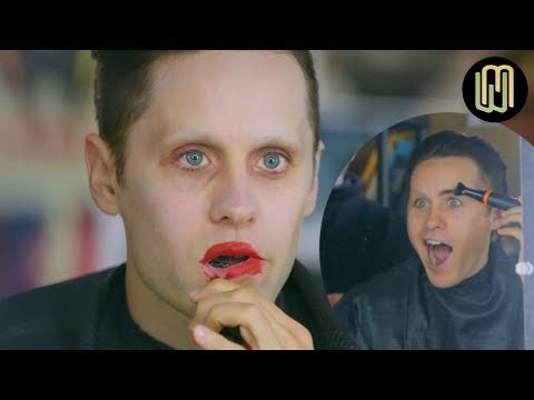 Jared Leto transformation into The Joker