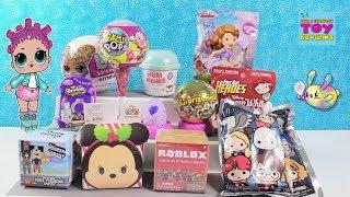 LOL Surprise Glitter Surprizamals Disney Tsum Pikmi Pops Toy Review | PSToyReviews