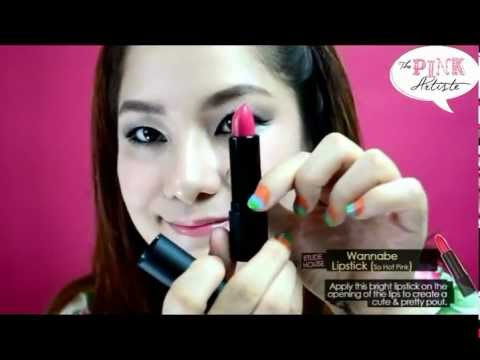 Pink Artiste : Dolly Drama Makeup