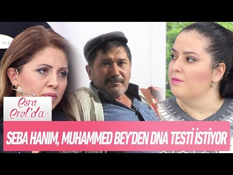 Seba hanım, Muhammed bey'den DNA testi istiyor - Esra Erol'da 12 Aralık 2017