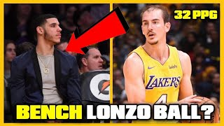 Why ALEX CARUSO Is The PERFECT Backup Point Guard For LONZO BALL & The LAKERS Next Season!