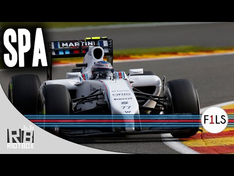 F1 2014 Live Season - Spa, Belgium Full Race (F1 2013 Gameplay PC)
