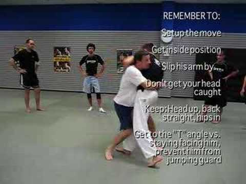 MMA, BJJ & Wrestling TakeDowns - Duck Under & Throws Image 1