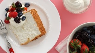 Gluten Free Angel Food Cake - Everyday Food with Sarah Carey