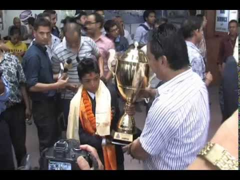 Under 16 cricket Team From Nepal