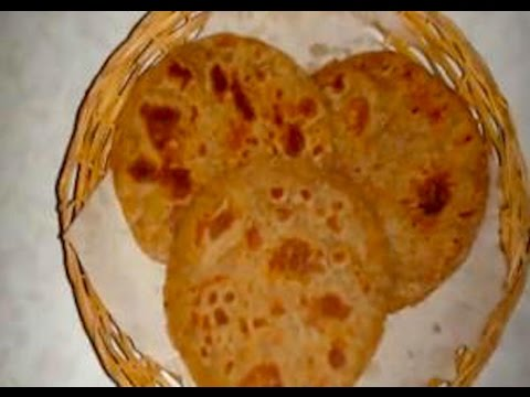 Bhakri or Bhakhri Recipe Video (Indian instant bread) by Bhavna