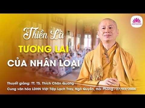 Thiền là tương lai của nhân loại
