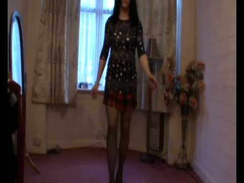 Rachel: Mini-Skirt Show II (T-Girl / Transvestite / Transgender / Crossdresser)