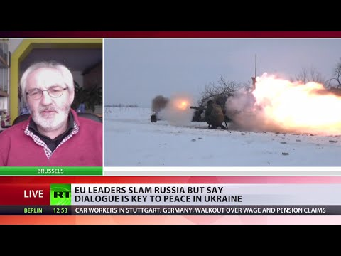 Send weapons or not? 'Big US, EU divide on Ukraine'
