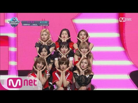 [TWICE - Cheer Up] KPOP TV Show L M COUNTDOWN 160519 EP.474