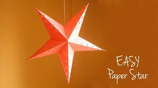 EASY Paper Star | How to Make Christmas Star | DIY Christmas Decorations